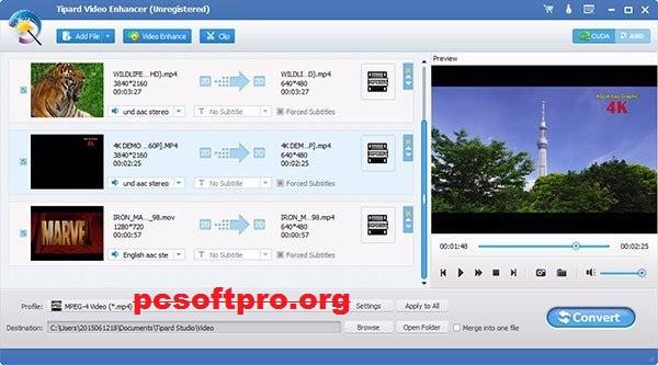 Tipard Video Enhancer 9.2.32 Crack With License Key 2021